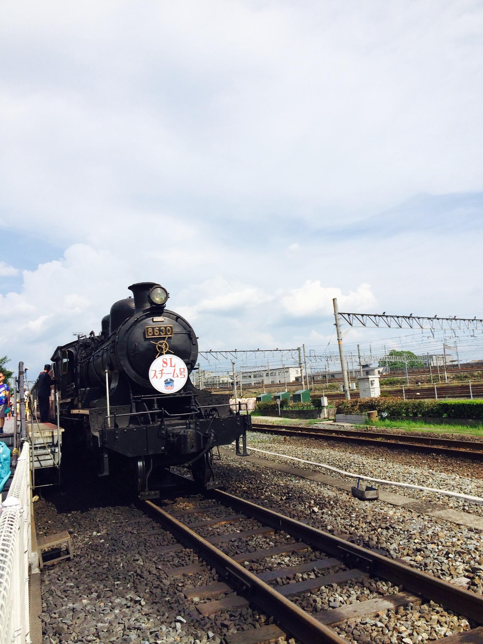 蒸気機関車で小旅気分
