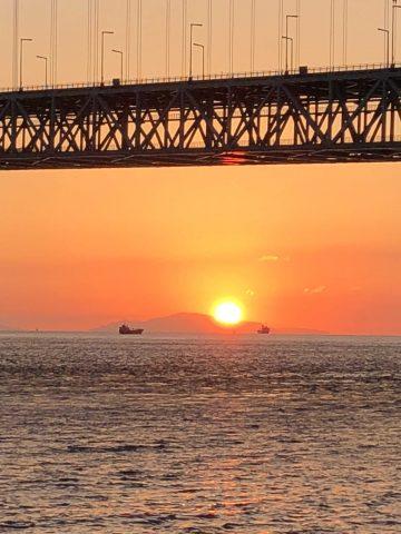 夕陽スポット