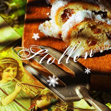 クリスマス伝統菓子と共に