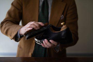 靴磨いてますか?